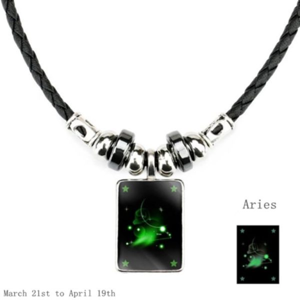 Luminous Zodiac Pendant_Aries