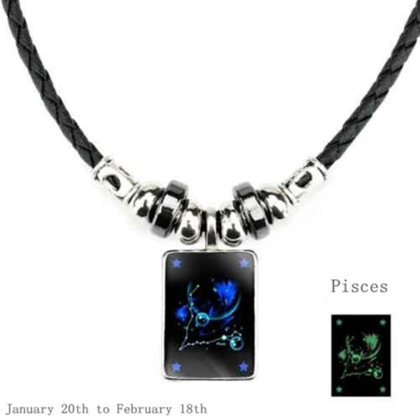 Luminous Zodiac Pendant_Pisces