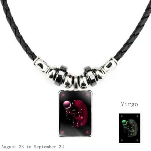 Luminous Zodiac Pendant_Virgo