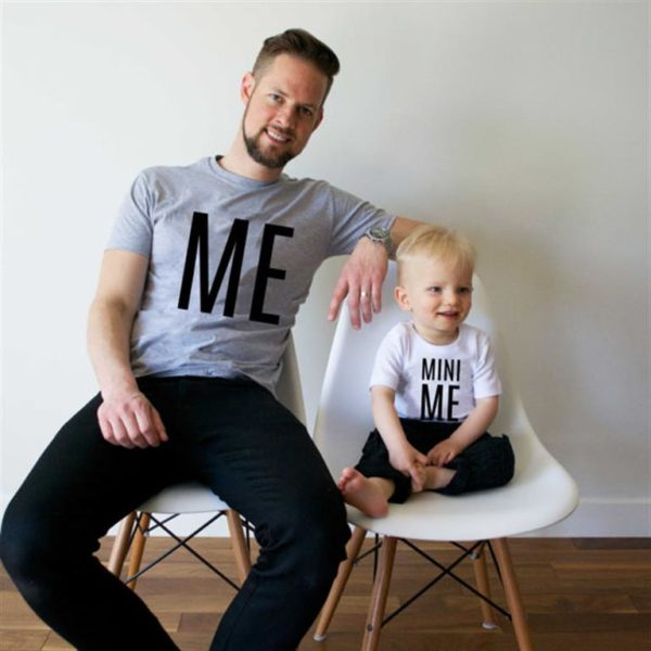 Matching Father And Son T Shirts - Me