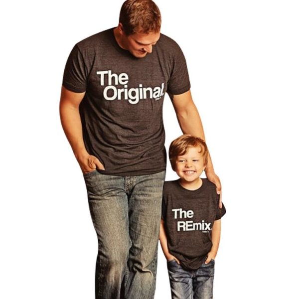 Matching Father And Son T Shirts - Original