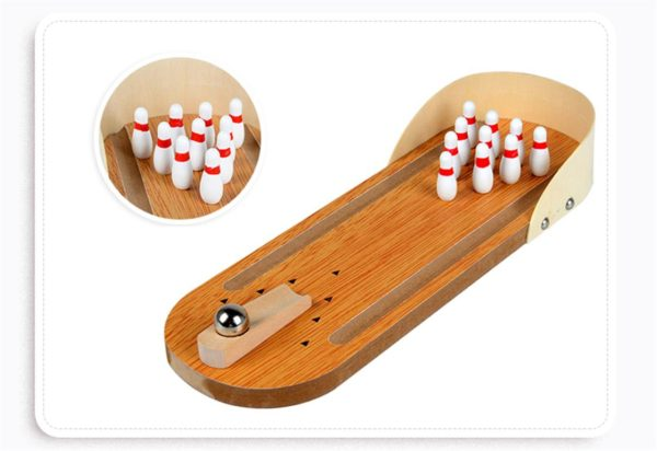 Mini Desktop Bowling Game Set - 2