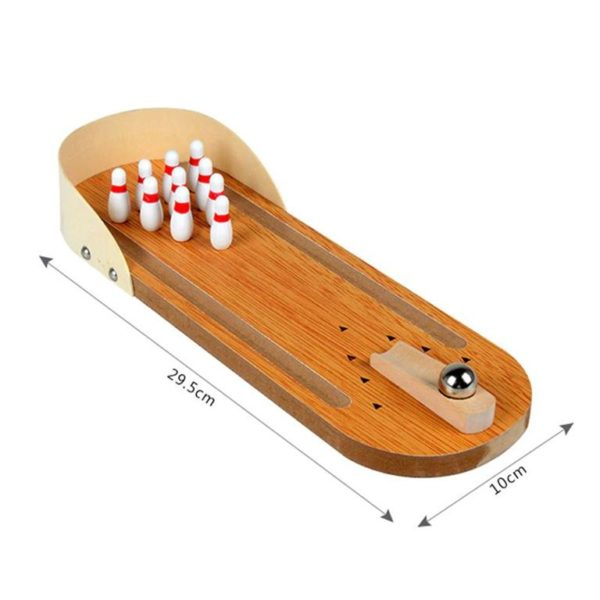 Mini Desktop Bowling Game Set - Dimension