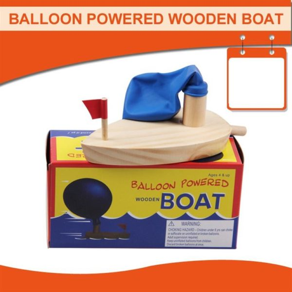 Balloon Powered Boat - 2