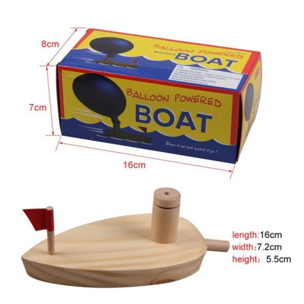 Balloon Powered Boat - 7