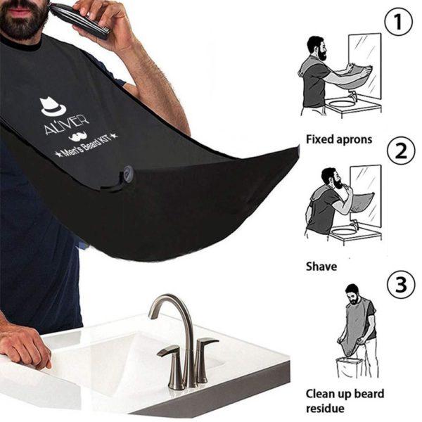 Men's Beard Trimming Gift Set - 7 Pcs - 4