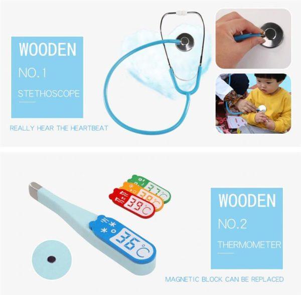 Kids Toy Doctor Kit - 2