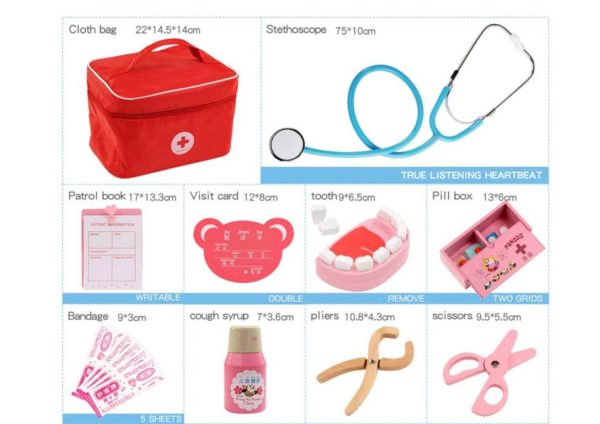 Kids Toy Doctor Kit - contents2