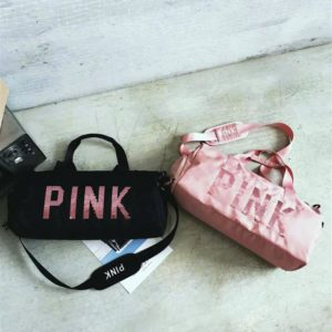 PINK Ladies Sports Bag - duo