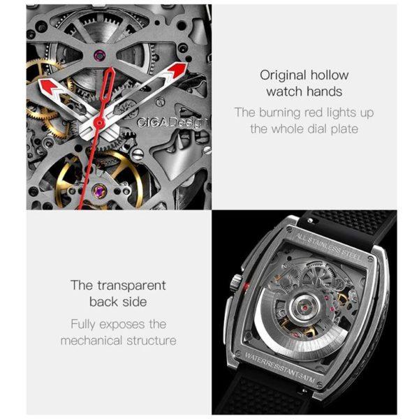 CIGA Design Z Series Mechanical Men's Waterproof Watch - 2