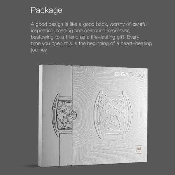 CIGA Design Z Series Mechanical Men's Waterproof Watch - Package