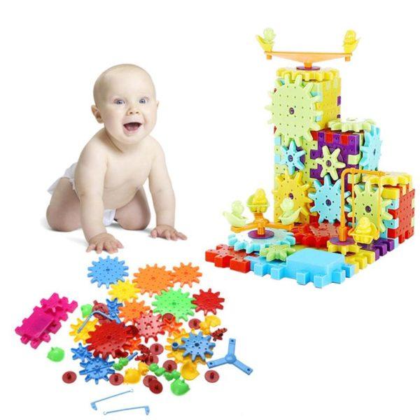 Children's Model Building Gears Toy - 1
