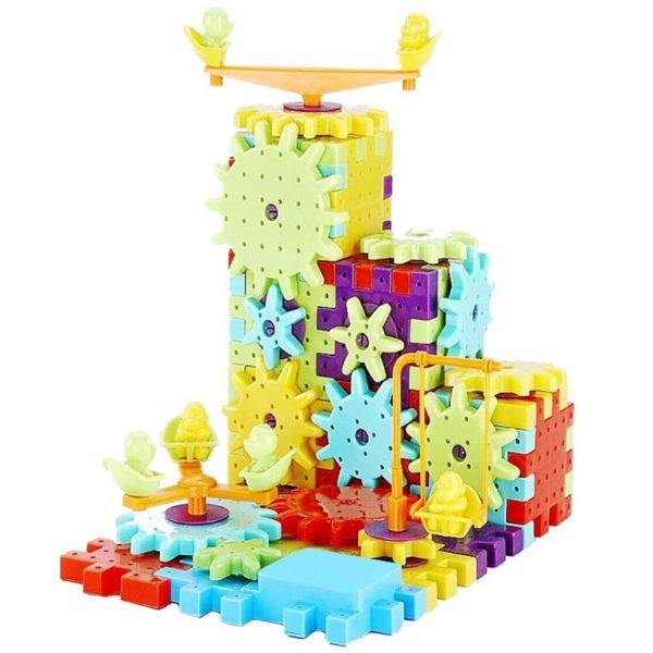 Children's Model Building Gears Toy