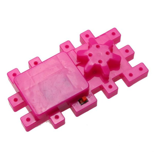 Children's Model Building Gears Toy - switch