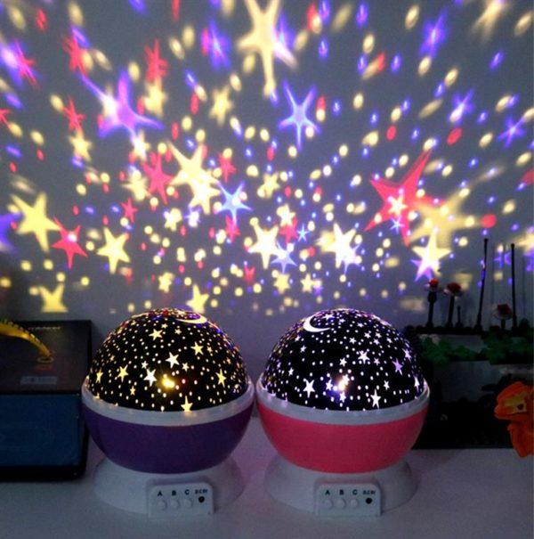 Children's Starry Sky LED Projection Night Light - 2