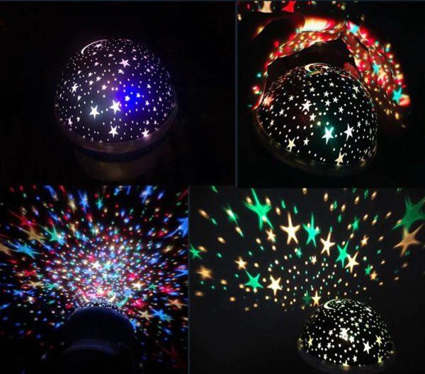 Children's Starry Sky LED Projection Night Light - 8