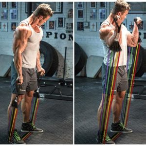 Gym Resistance Bands Set - 1