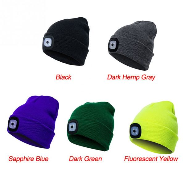 LED Winter Beanie - 1
