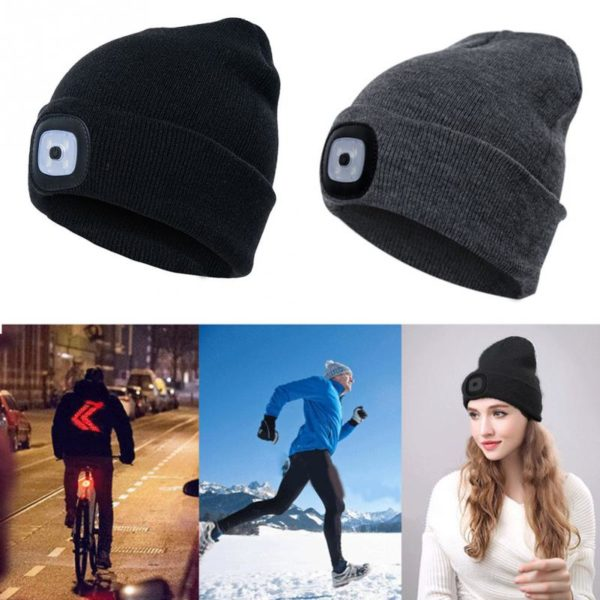 LED Winter Beanie - 5