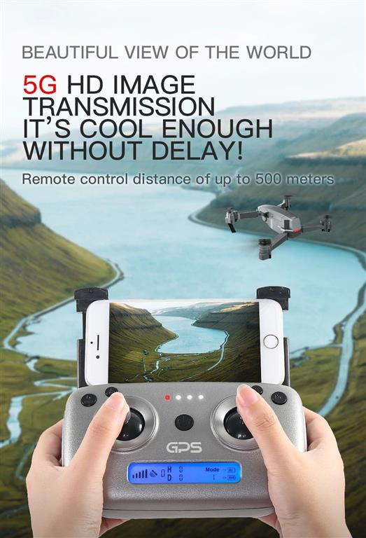 Quadcopter Drone with GPS - 4K HD Camera - 2