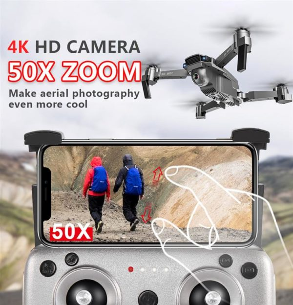 Quadcopter Drone with GPS - 4K HD Camera - 3