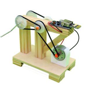 DIY Wood Dynamo Generator Model - 1