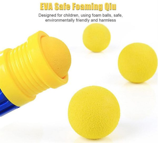 Feed the Duck - Shooting Game For Children - foam balls