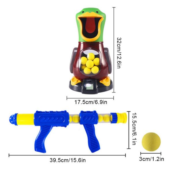 Feed the Duck - Shooting Game For Children - size