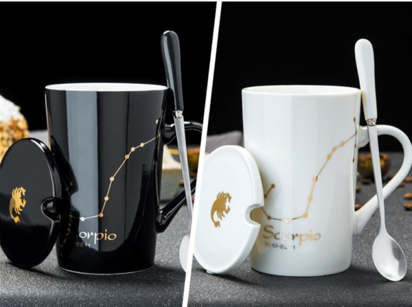 Large Novelty Mug - Zodiac Constellations - 1