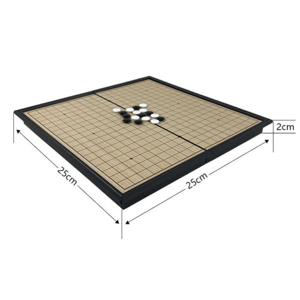 Magnetic Go Board Game - size
