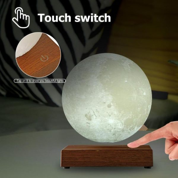 Magnetic Levitating Moon Night Lamp - 4