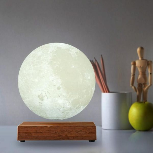 Magnetic Levitating Moon Night Lamp - 6