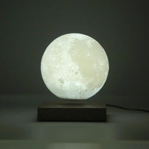 Magnetic Levitating Moon Night Lamp - 8