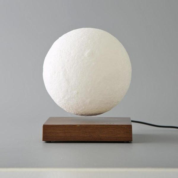Magnetic Levitating Moon Night Lamp - 9