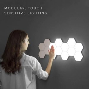 Modular Hexagonal Touch Sensitive Lighting System - 1