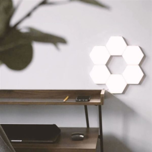 Modular Hexagonal Touch Sensitive Lighting System - 7