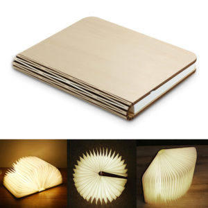 Wooden Book LED Lamp - 18