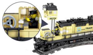 Building Blocks Electric Train - 98224-2