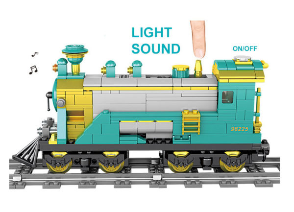 Building Blocks Electric Train - 98225-1