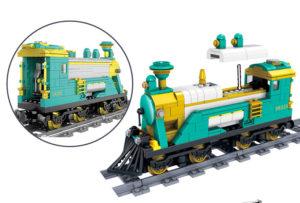 Building Blocks Electric Train - 98225-2
