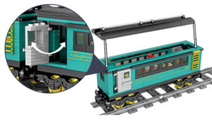 Building Blocks Electric Train - 98225-3