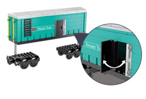 Building Blocks Electric Train - 98226-3