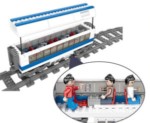 Building Blocks Electric Train - 98227-2