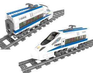 Building Blocks Electric Train - 98227-3