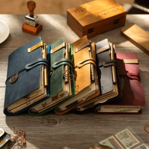 Handmade Vintage Leather Traveler Notebook