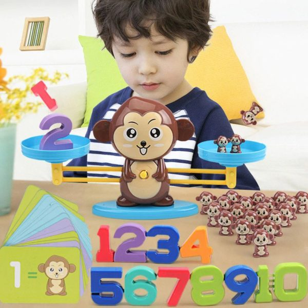 Monkey Balance - Childrens Counting Game - 1
