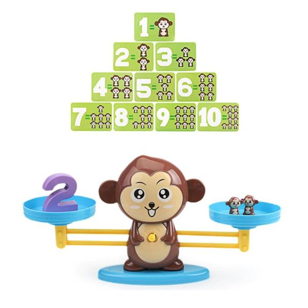 Monkey Balance - Childrens Counting Game - 4