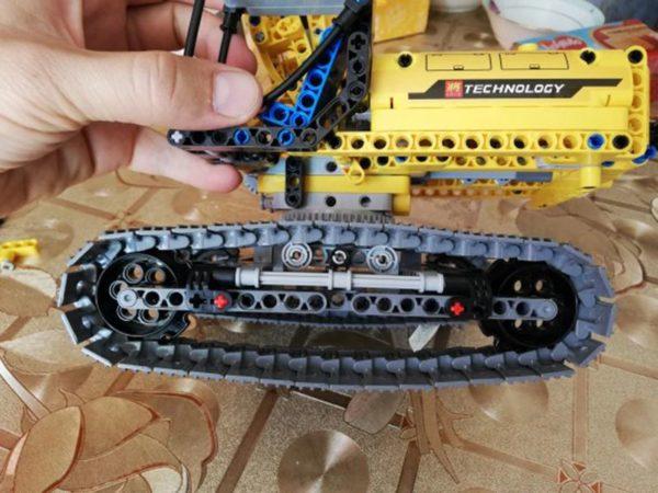 Motorized Excavator - Building Blocks - 3