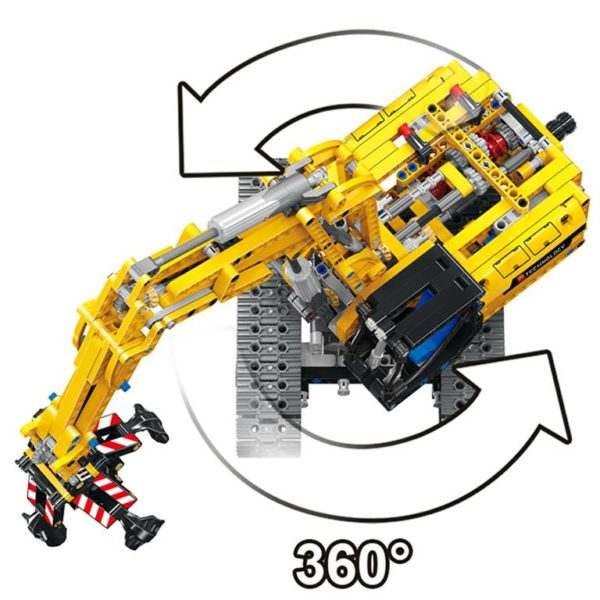 Motorized Excavator - Building Blocks - 6