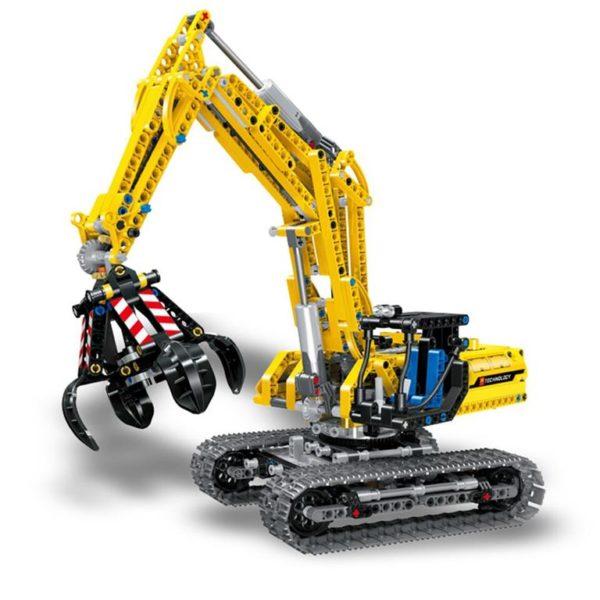 Motorized Excavator - Building Blocks - 8